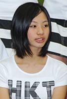 西武ドームでお披露目されたHKT48の深川舞子(ふかがわ まいこ・小6)
