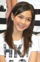 西武ドームでお披露目されたHKT48の村重杏奈(むらしげ あんな・中1)