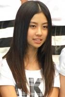 西武ドームでお披露目されたHKT48の若田部遥(わかたべ はるか・中1)