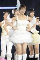AKB48の篠田麻里子<br> 『AKB48 in TOKYO DOME〜1830mの夢〜』の模様