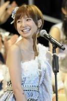AKB48の篠田麻里子<br> 『第5回 AKB48選抜総選挙』の模様