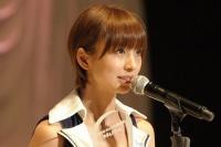 AKB48の篠田麻里子<br> 『第3回 AKB48選抜総選挙』の模様