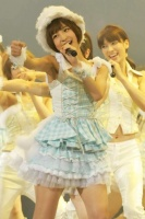AKB48の篠田麻里子<br> 『第3回 AKB48じゃんけん大会』の模様