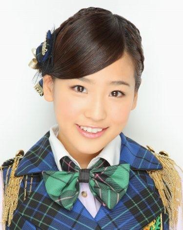 『第4回AKB48選抜総選挙』速報順位 第38位 仲川遥香(AKB・A) 得票数:1244票