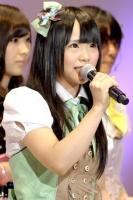 『第4回AKB48選抜総選挙』<br>34位 松村香織(SKE・研) 得票数:9030票<br>研究生で2年半。半年前に私は変わった。諦めないでがんばってきてよかった。努力は報われると思った。
