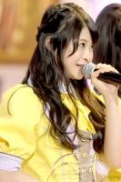 『第4回AKB48選抜総選挙』<br>32位 小木曽汐莉(SKE・KII) 得票数:9596票<br>このステージに立つことができるのは今年が初めて。皆さんに新しくいただいた場所を大切に大切にしていきたい。