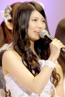『第4回AKB48選抜総選挙』<br>22位 倉持明日香(AKB・A) 得票数:14852票<br>今はすごくほっとしている。これからも自分のペースで一歩一歩上を目指していく。有言実行の女性になる。