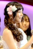 『第4回AKB48選抜総選挙』<br>23位 島崎遥香(AKB・4) 得票数:14633票<br>今日はチーム4結成からちょうど1年。個人としても、4としてももっと上に進んでいきたいです!これからも宜しくお願いします。