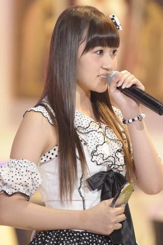 『第4回AKB48選抜総選挙』<br>64位 小森美果(AKB・B) 得票数:5398票<br>投票してくれた皆さんありがとうございます。速報では圏外だったんですけど、入れてすごくうれしい。