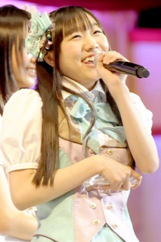 『第4回AKB48選抜総選挙』<br>29位 須田亜香里(SKE・S) 得票数:11323票<br>皆さんの笑顔を感じる事が出来て私は幸せです!皆さんの笑顔を感じる事が出来たからこそここに立てました。皆さんと一緒に想い出を作れることが凄く幸せです!!