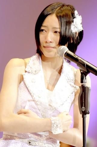 『第4回AKB48選抜総選挙』<br>9位 松井珠理奈(SKE・S/AKB・K) 得票数:45747票<br>ここで約束します!! チームSとしてもチームKとしても自分らしく誠意一杯全力投球していきたいと思いますので皆さん支えてください! そして一緒に階段上ってください。