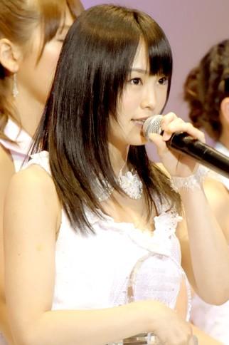 『第4回AKB48選抜総選挙』<br>18位 山本彩(NMB・N) 得票数:23020票<br>目標16位だったので悔しい気持ちでいっぱい。AKB48選抜に参加して、今回結果が出せなくてグループに申し訳ない。この順位に誇りをもってがんばる。