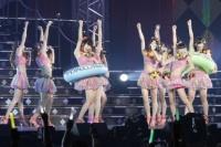 『第1回ゆび祭り〜アイドル臨時総会〜』でのSUPER☆GiRLS