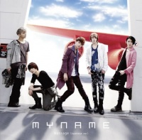 MYNAMEのシングル「Message(Japanese ver.)」【通常盤Type-A】