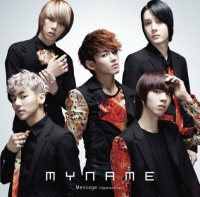 MYNAMEののシングル「Message(Japanese ver.)」.)」【WEB盤】