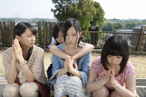 SKE48主演ドラマ『学校の怪談』 第4話『犯人の背中』より