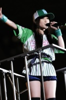 ももいろクローバーZの有安杏果 『ももクロ夏のバカ騒ぎSummer Dive 2012 Tour-最終戦-』の模様