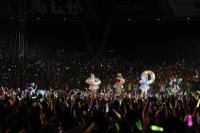 ももいろクローバーZ『ももクロ夏のバカ騒ぎSummer Dive 2012 Tour-最終戦-』の模様
