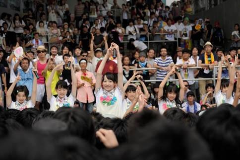 『TOKYO IDOL FESTIVAL 2012』の模様