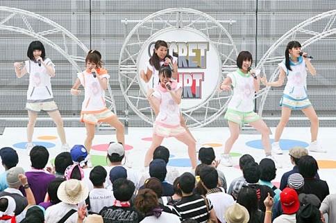 lyrical school 『TOKYO IDOL FESTIVAL 2012』の模様