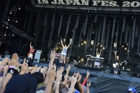 『ROCK IN JAPAN FESTIVAL 2012』1日目の模様 PRINCESS PRINCESS