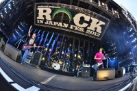 『ROCK IN JAPAN FESTIVAL 2012』1日目の模様 10-FEET