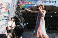 『a-nation 2012 stadium fes』に出演したmoumoon