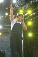 『a-nation 2012 stadium fes』に出演した石塚英彦