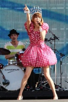 『a-nation 2012 stadium fes』に出演したhitomi