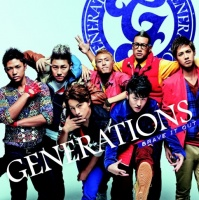 GENERATIONSのシングル「BRAVE IT OUT」【CD+DVD】