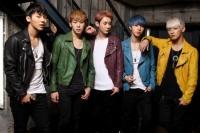 MYNAME(左からインス、チェジン、コヌ、ジュンQ、セヨン)