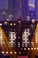 SUPER JUNIOR-K.R.Y.(左からリョウク、キュヒョン、イェソン)