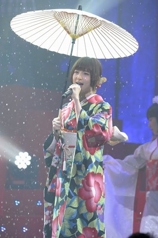 『第2回 AKB48紅白対抗歌合戦』の模様 篠田麻里子