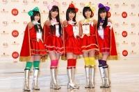 『第63回 NHK紅白歌合戦』に初出場する、ももいろクローバーZ<br>(左から)有安杏果、佐々木彩夏、百田夏菜子、玉井詩織、高城れに