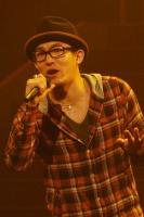 『第63回 NHK紅白歌合戦』リハーサルに参加した<br>FUNKY MONKEY BABYSのファンキー加藤
