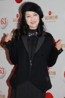 『第63回 NHK紅白歌合戦』リハーサルに参加した<br>藤あや子