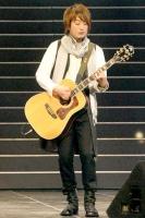 『第63回 NHK紅白歌合戦』リハーサルに参加した<br>いきものがかりの山下穂尊
