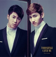 東方神起のシングル「Catch Me」【CD+DVD】