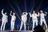BIGBANG(左からV.I、SOL、G-DRAGON、T.O.P、D-LITE)