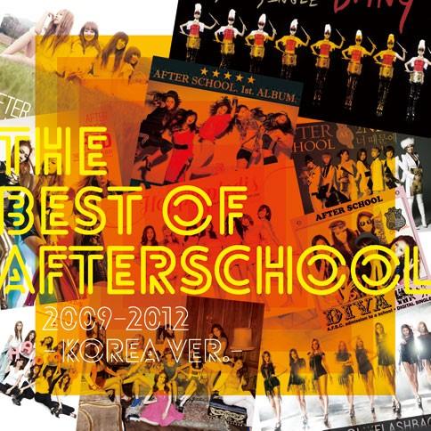 AFTERSCHOOLのベストアルバム『THE BEST OF AFTERSCHOOL 2009-2012 -Korea Ver.-』【CD+DVD盤】