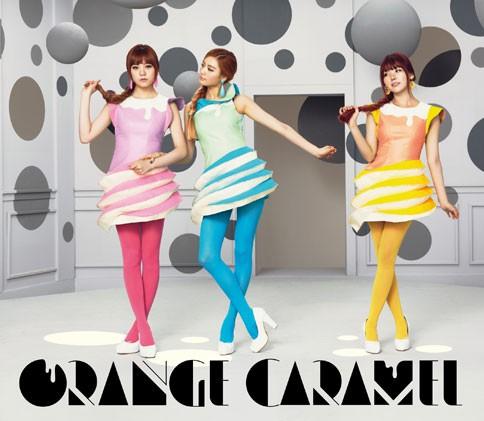 ORANGE CARAMELのアルバム『ORANGE CARAMEL』【MUSIC VIDEO盤/CD+DVD】