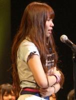 『第2回AKB48選抜総選挙』開票イベントの模様<br>12位 河西智美