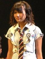 『第2回AKB48選抜総選挙』開票イベントの模様<br>9位 宮澤佐江