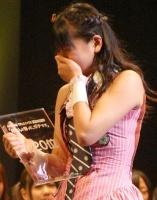 『第2回AKB48選抜総選挙』開票イベントの模様<br>20位 仲川遥香