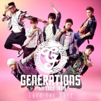 GENERATIONS from EXILE TRIBEのシングル「Love You More」【CD+DVD】