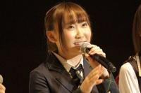 『第3回AKB48選抜総選挙』開票イベントの模様<br>31位 仁藤萌乃