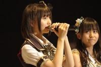『第3回AKB48選抜総選挙』開票イベントの模様<br>33位 秦佐和子