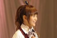 『第3回AKB48選抜総選挙』開票イベントの模様<br>18位 佐藤亜美菜