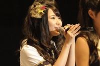 『第3回AKB48選抜総選挙』開票イベントの模様<br>23位 高柳明音