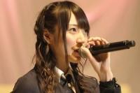 『第3回AKB48選抜総選挙』開票イベントの模様<br>38位 松井咲子